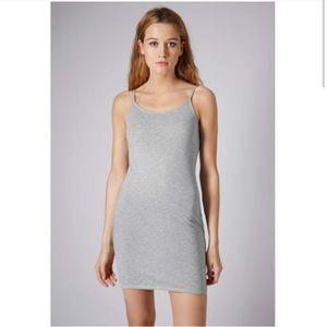 NWT Topshop Gray slip on dress